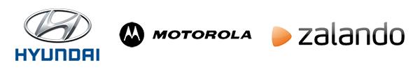 Hyundai, Motorola. Zalando